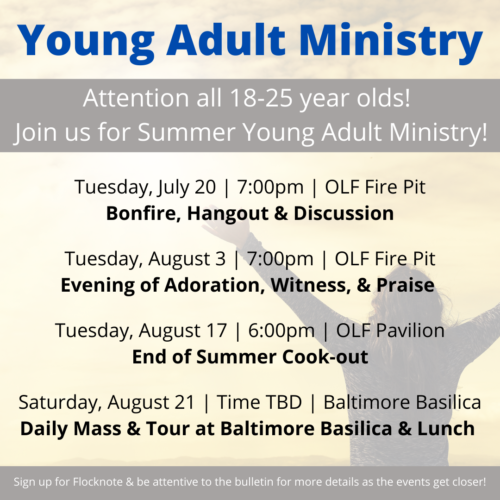 Young Adult Ministry_OLFSummer