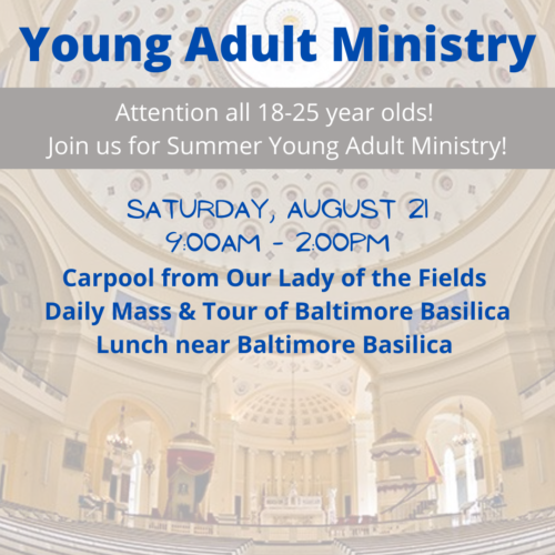 Young Adult Ministry_OLFSummer_Basilica