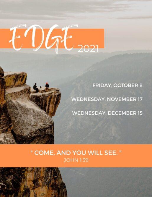 Edge Schedule (2021)